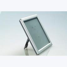 Cadre clic clac - Alu satiné - FORMAT: A5 (14,8x21 ou 15x21cm)